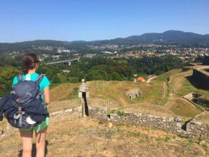 Aussicht, Festungsmauer, Valenca