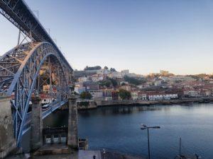 Fluss Douro, Ponte Dom Luis, Porto