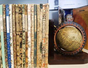 Antiquariate in der historischen Bücherstadt Langenberg
