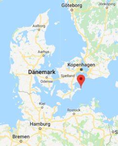 Mons Klint, Dänemark