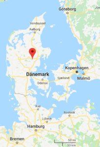 Ry im Seenhochland, Dänemark
