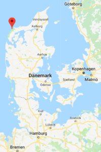 Klitmøller im Nationalpark Thy, Dänemark