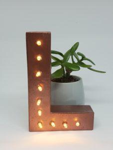 Leuchtbuchstaben selber machen DIY