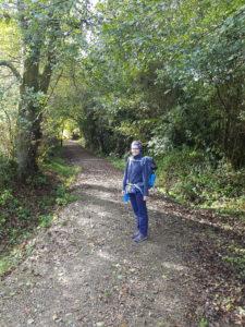 Umgeben von Wald - die schönste Etappe des Camino Ingles