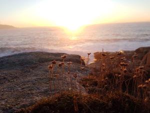 Der Sonnenuntergang in Muxia
