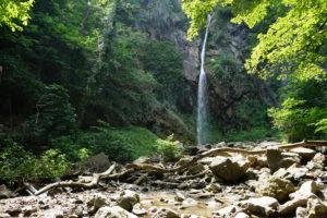 Der Wasserfall am Ende des Waalwegs