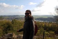 Aussicht von der Burgruine Scharzfels