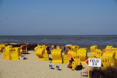 Am Strand in Cuxhaven Duhnen