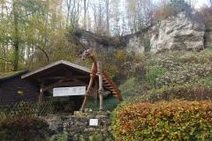 Vor der Einhornhöhle