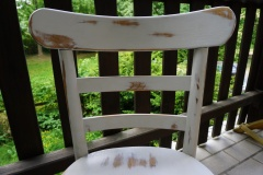 Stuhl nachher im Shabby Chick - Look